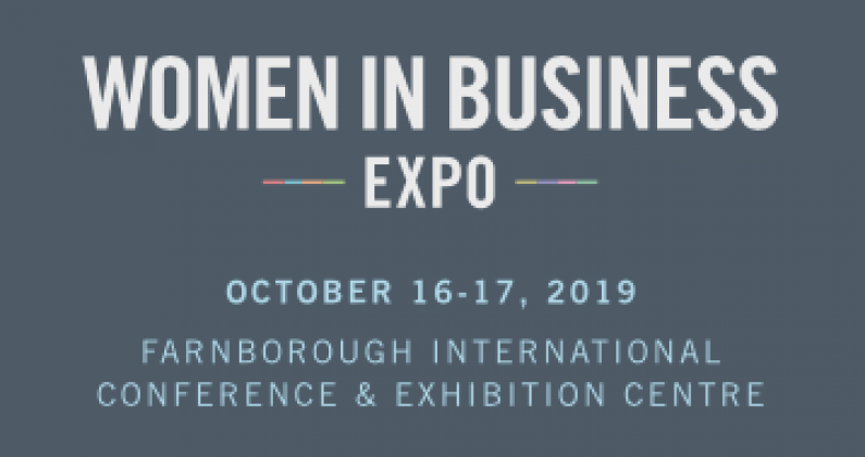 women in business expo logo